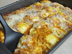Vegetarian and Cooking!: Baked Ravioli, an easy and delicious dinner!