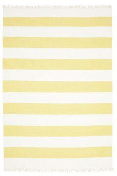 Cotton stripe - Yellow szőnyeg 220x320
