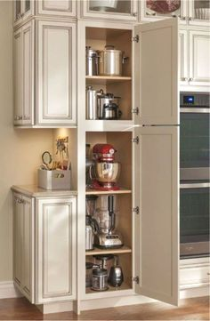 Corner Cabinets - CLICK PIN for Various Kitchen Cabinet Ideas. 68694535 #kitchencabinets #kitchenstorage