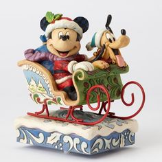 Jim Shore Disney LE Laughing All Way Musical Mickey Mouse Figure