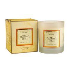 African Spice Candle by Wax Lyrical Scented Candles, Candle Jars, African Spices, Wax Lyrical, Own Home, Lyrics, Song Lyrics, Verses, Music Lyrics