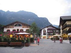 Garmisch, Germany  Beautiful little German town