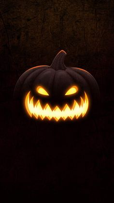 Scary-Halloween-Pumpkin-Masks-iPhone-Wallpaper - iPhone Wallpapers