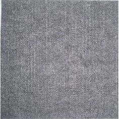 Do It Yourself Grey Carpet Tiles (144 Square Feet) | Overstock.com Shopping - Great Deals on Carpeting