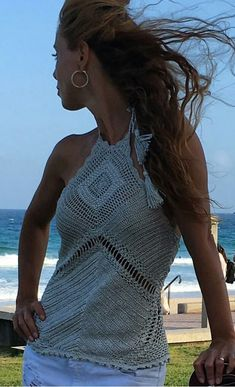 Crochet Shirt, Crochet Jacket, Knit Crochet, Vanessa Montoro, Fashion Sketchbook, Knit Fashion, Monokini, Crochet Clothes, Crop Tops