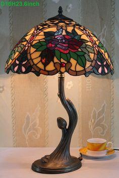 Rose Tiffany Lamp 16S0-38T215