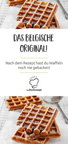 Belgische Waffeln Finally you can make the super delicious Belgian waffles at home: you get the best recipe for it from us! Dusted with powdered sugar you will most likely eat them every week.