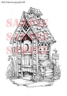 Big SuR OUTHOUSE 2013 NeW by RickStdennis on Etsy, $4.00