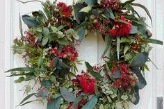 Aussie Christmas wreath