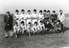 Una formazione degli Allievi Regionali del 1979. Il primo accosciato da sinistra è Ivo Pulga, la sua carriera è partita da qui.