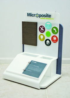 Microposite Acrylic Display | POP| Display | Custom Displays | Point of Purchase | Point of Sale