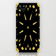 Black and Gold iPhone & iPod Case by lillianhibiscus - $35.00