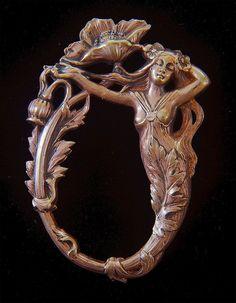 Art Nouveau Nymph