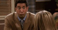 The Month Of April For A College Student As Told By Ross Geller