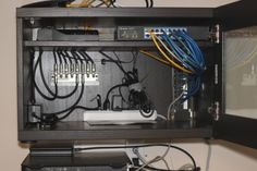 Home Network Wiring Cabinet - IKEA Hackers