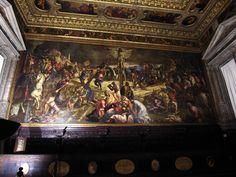 Scuola di San Rocco - Venice, Italy   Tintoretto's Crucifixion