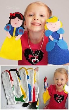 Kids and parenting. Kids Crafts, Felt Crafts, Projects For Kids, Diy For Kids, Sewing Projects, Puppet Show, Finger Puppets, Felt Puppets, Felt Toys