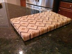 Another Sinister Inspired End-Grain Cutting Board - by Bill H. @ LumberJocks.com ~ woodworking community