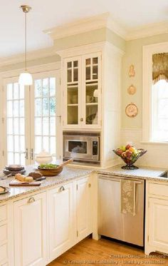 same layout as our kitchen. Love this!
