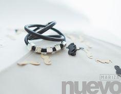 FREE SHIPPING, leather wrap bracelet, leather boho bracelet, leather cord bracelet, leather jewellery, Inspiration. black by MARIZAstyle on Etsy