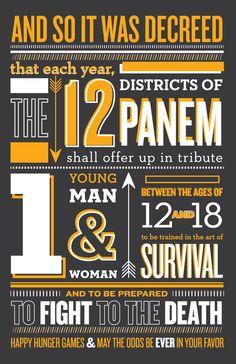 Happy Hunger Games by Jennifer Giesler, via Behance