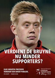 Special Olympics 2014 - Kevin De Bruyne