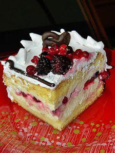 www.gatimcuvero.ro: Prajitura diplomat cu fructe de padure