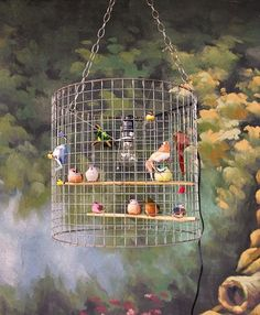eBay Find of the Day: Birdcage Light Fixture