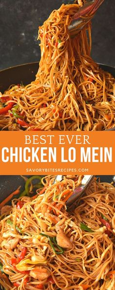 Try this best ever-better than restaurants Chicken Lo Mein! Better than takeout chicken lo mein recipe is very easy and so good! food recipes beef lo mein The Ultimate Spicy Chicken Lo Mein Recipe Spicy Chicken Lo Mein Recipe, Chicken Recipes, Beef Recipes, Easy Recipes, Pf Changs Shrimp Lo Mein Recipe, Lo Mein Noodle Sauce Recipe, Hibachi Chicken And Noodles Recipe, Pf Chang Lo Mein Recipe, Chow Lo Mein Recipe