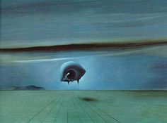 The Eye, 1945, Oil by Salvador Dali (1904-1989, Spain)