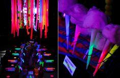 Glow in the Dark wedding ideas