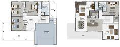 Solo 4 bedroom house plan Landmark Homes builders NZ 4 Bedroom House Plans, Home Builders, Building A House, Master Bedroom, New Homes, Floor Plans, Home And Garden, Design Inspiration, How To Plan