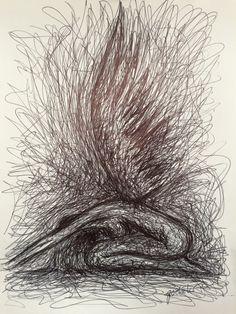 #fireangel #emotional #sensual #angel #wings #Feuerengel #emotional #sinnlich #Engel #Flügel #art #illustration by #goebeler Copyright Stephan A. Göbeler