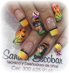 Halloween Design, Halloween 2019, Halloween Nails, Little Girl Nails, Girls Nails, Girls Nail Designs, Ideas, Style, Vestidos