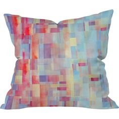 Lend a modern touch to your living room or master suite with this stylish pillow, featuring an eye-catching pixelated design.  Produ...