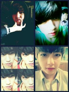 Taehyung and Jeongguk still looks perfect even during predebut°^°