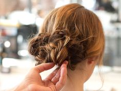 Holiday party hairstyles
