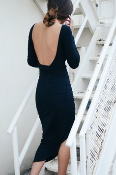 The Cameron Dress #openbackdress