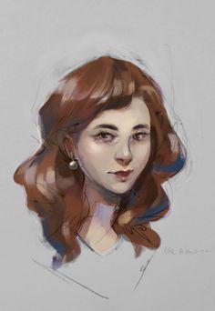 Portrait 14.08.2018 by https://www.deviantart.com/madjsteie on @DeviantArt