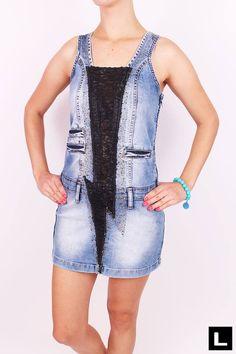 Džínsové dámske minišaty Overall Shorts, Overalls, Women, Fashion, Moda, Fashion Styles, Jumpsuits, Fashion Illustrations, Work Wardrobe