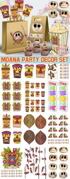 https://www.etsy.com/listing/555687749/moana-kakamora-printable-aloha-party?ref=shop_home_active_2 Moana party decor ideas. Moana party decor. Moana. kakamora. popcorn moana. aloha party decor. coconat decor party. cupcake toppers moana. Kakamora cupcake toppers. moana gift bag. party decor set aloha.