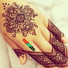 I feel you are confused, don't worry we are here to help you out check other designs hope you like one of them.  http://www.latesthennadesigns.com/2017/07/20-best-backhand-mehndi-designs.html  #henna #hennaart #hennadesigns #simplehenna #mehndi #mehndiart #mehndidesigns #simplemehndi
