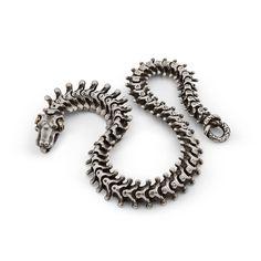Browse Skull Bracelet Oxidized Silver Diamond Eyes and more from Snake Bones at Wolf & Badger - the leading destination for independent designer fashion, jewellery and homewares. Snake Bracelet, Skull Bracelet, Mens Gold Jewelry, Silver Jewelry, Silver Ring, Silver Earrings, Beaded Jewelry, Vintage Jewelry, Bracelets For Men