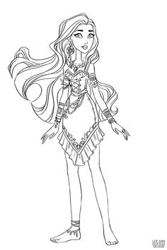 Раскраска Дисней Принцесса Мерида | Раскраски, Раскраски ...