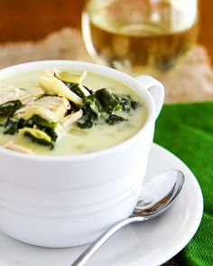 It officially Fall! So what better time to cook up some spinach artichoke soup?!