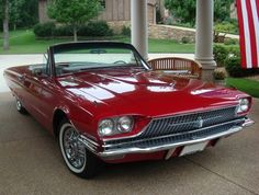 Ford : 1966 Thunderbird Convertible - front