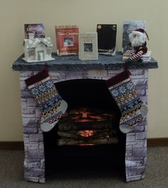 Make A Faux Log Stock Insert To Cover An Unsightly Fireplace