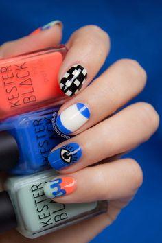 Kenzo Eye Nails. #nailart #kenzo