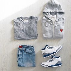 swag outfits with jordans for guys Tomboy Outfits, Swag Outfits, Casual Outfits, Men Casual, Fashion Outfits, Comfortable Outfits, Dope Outfits For Guys, Cool Outfits, Look Fashion