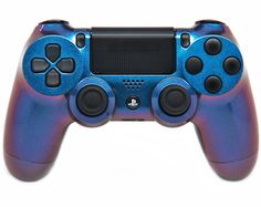 "This is our Limited ""Enigma Chameleon"" PlayStation 4 Modded Controller. It is a perfect gift for a special gamer in your life. Order yours today at: http://moddedzone.com/ You can also visit our eBay store at: http://stores.ebay.com/moddedzone/"